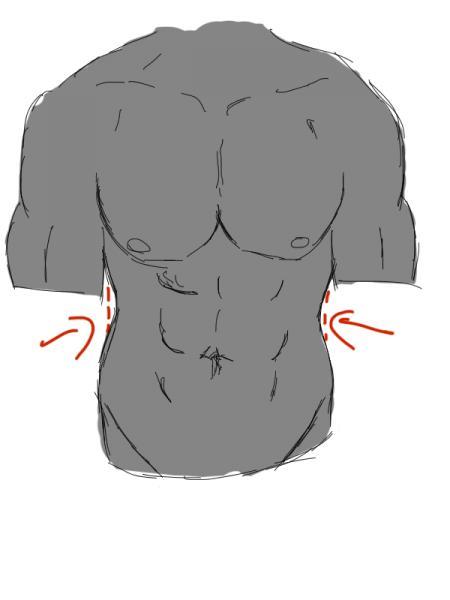 Becken nackt breites User Photo